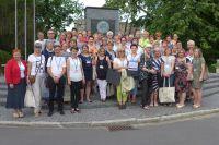Uczestniczący w zlocie członkowie DKK z Warmii i Mazur wraz z wojewódzkimi koordynatorami