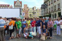 Warmińsko-mazurscy klubowicze na wrocławskim rynku