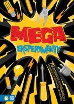 """Okładka książki pt. """"Mega eksperymenty"""""""