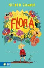 """Okładka książki pt. """"Flora"""""""