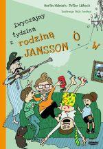 """Okładka książki pt. """"Zwyczajny tydzień zrodziną Janssonów"""""""