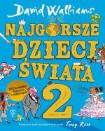 """Okładka książki pt. """"Najgorsze dzieci świata 2"""""""