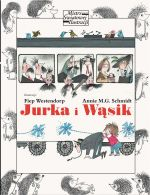"Okładka książki pt. ""Jurka iWąsik"""