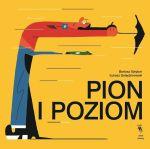 """Okładka książki pt. """"Pion ipoziom"""""""