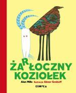 """Okładka książki pt. """"Żarłoczny koziołek"""""""