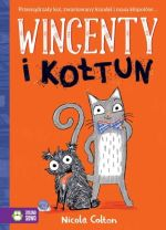 """Okładka książki pt. """"Wincenty i Kołtun"""""""