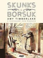 "Okładka książki pt. ""Skunks i Borsuk"""