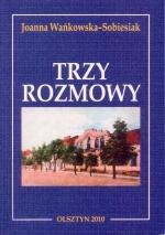 Okładka książki: Trzy rozmowy