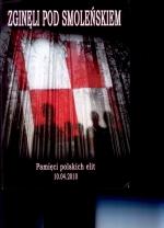 Okładka książki: Zginęli pod Smoleńskiem