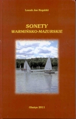Okładka książki: Sonety warmińsko-mazurskie