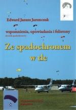 Okładka książki: Ze spadochronem w tle