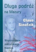 Okładka książki: Długa podróż na Mazury