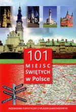 Okładka książki: 101 miejsc świętych w Polsce