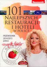 Okładka książki: 101 najlepszych restauracji i hoteli w Polsce