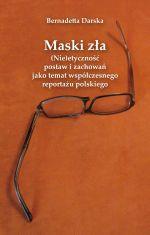 Okładka książki: Maski zła