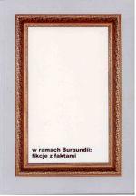 Okładka książki: W ramach Burgundii