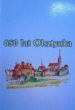 Okładka książki: [Sześćset pięćdziesiąt] 650 lat Olsztynka