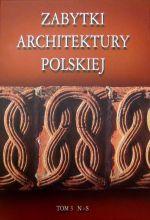 Okładka książki: Zabytki architektury polskiej