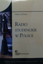 Okładka książki: Radio studenckie w Polsce