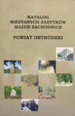 Okładka książki: Katalog nieznanych zabytków Mazur Zachodnich