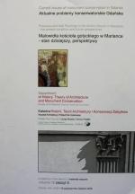 Okładka książki: Malowidła kościoła gotyckiego w Mariance - stan dzisiejszy, perspektywy