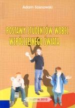 Okładka książki: Postawy studentów wobec współczesnego świata