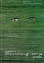 Okładka książki: Wyzwania zrównoważonego rozwoju w Polsce