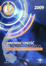 Okładka książki: Innowacyjność na Warmii i Mazurach - WMARR SA - wsparcie dla innowacji i przedsiębiorczości