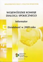 Okładka książki: Wojewódzkie Komisje Dialogu Społecznego