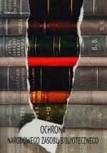 Okładka książki: Ochrona Narodowego Zasobu Bibliotecznego