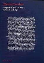 Okładka książki: Misja Benedykta Makraia w latach 1412-1413