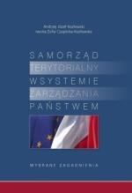 Okładka książki: Samorząd terytorialny w systemie zarządzania państwem