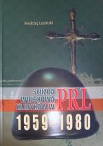 Okładka książki: Służba wojskowa kleryków w PRL