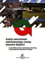 Okładka książki: Analiza uwarunkowań wielofunkcyjnego rozwoju obszarów wiejskich