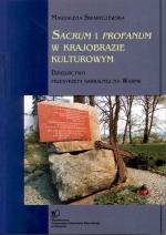 Okładka książki: Sacrum i profanum w krajobrazie kulturowym
