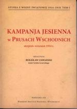 Okładka książki: Kampania jesienna w Prusach Wschodnich