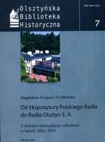 Okładka książki: Od Ekspozytury Polskiego Radia do Radia Olsztyn S.A.