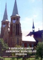 Okładka książki: Z dziejów Gminy Janowiec Kościelny (Poboża)