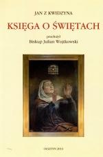 Okładka książki: Księga o świętach mistrza Jana z Kwidzyna