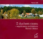 Okładka książki: Z duchem czasu - współczesna architektura Warmii i Mazur