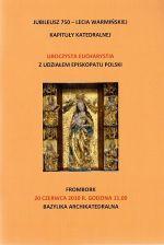 Okładka książki: Jubileusz 750-lecia Warmińskiej Kapituły Katedralnej