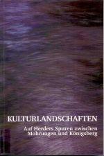 Okładka książki: Kulturlandschaften