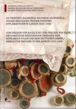 Okładka książki: Od traktatu kaliskiego do pokoju oliwskiego