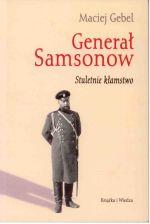 Okładka książki: Generał Samsonow
