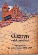 Okładka książki: Olsztyn w dokumentach