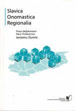 Okładka książki: Slavica, onomastica, regionalia