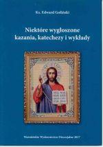Okładka książki: Niektóre wygłoszone kazania, katechezy i wykłady
