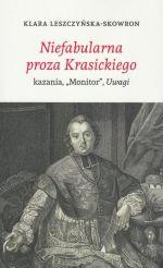 Okładka książki: Niefabularna proza Krasickiego