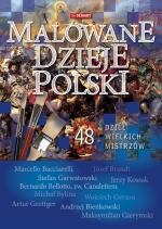 Okładka książki: Malowane dzieje Polski