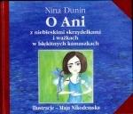 Okładka książki: O Ani z niebieskimi skrzydełkami i ważkach w błękitnych kamaszkach